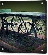 Rail Road Wagon Acrylic Print