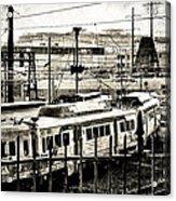 Rail Yard Blues Acrylic Print