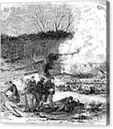 Railroad Accident, 1853 Acrylic Print