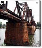 Railroad Bridge 1 Acrylic Print