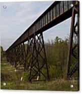 Railroad High Bridge 3 Acrylic Print