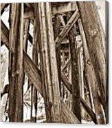 Railroad Trussel Acrylic Print