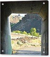 Railroad Tunnel Acrylic Print