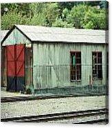 Railroad Woodshed 2 Acrylic Print