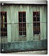 Railroad Woodshed Acrylic Print