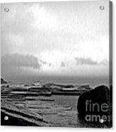Rain And Storm Acrylic Print
