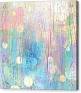 Rain Down On Me Acrylic Print