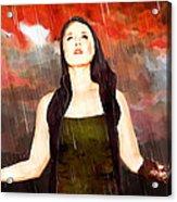 Rain Drain Acrylic Print
