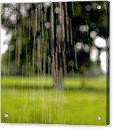 Rain Falling Acrylic Print