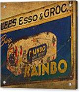 Rainbo Bread Acrylic Print