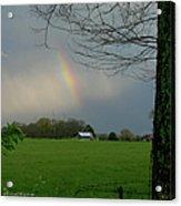 Rainbow After The Rain Acrylic Print