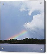 Rainbow Bright Acrylic Print