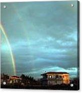 Rainbow Calabrese Acrylic Print