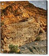 Rainbow Canyon 2 Death Valley Acrylic Print