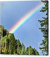 Rainbow Closeup Acrylic Print