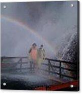 Rainbow Crazy Acrylic Print