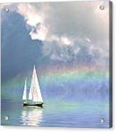 Rainbow Cruise Acrylic Print
