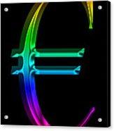 Rainbow Euro Acrylic Print