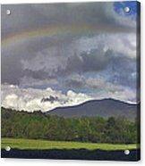Rainbow Frames Ascutney Mountain Acrylic Print