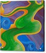 Rainbow Healing For Family Acrylic Print