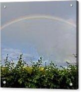 Rainbow In Warwick Acrylic Print