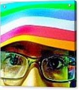 Rainbow Mind Acrylic Print