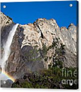 Rainbow On Bridalveil Fall Acrylic Print