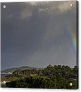 Rainbow Over Carmel Acrylic Print