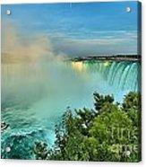 Rainbow Over Niagara Acrylic Print