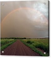 Rainbow Acrylic Print by Pat Gaines