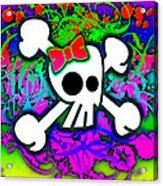Rainbow Skull 1 Of 6 Acrylic Print