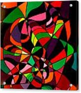 Rainbow Snake 1 Acrylic Print