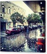 Rainbow Street #amman #jo #jordan Acrylic Print
