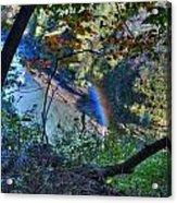 Rainbow Through The Rough Acrylic Print
