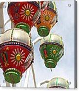 Rainbowheel Acrylic Print