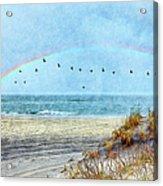 Rainbows And Wings II Acrylic Print