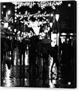 Raining In Dublin Acrylic Print