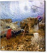 Rainy Day Abstract 3 Acrylic Print