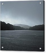 Rainy Day At Price Lake Acrylic Print