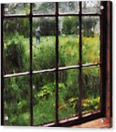 Rainy Day Acrylic Print by Susan Savad