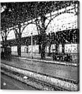 Rainy Departure Acrylic Print