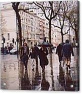 Rainy Sunday On Cromwell Road In London England Acrylic Print