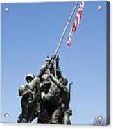 Raise The Flag Acrylic Print