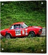 Rally Lancia 02 Acrylic Print