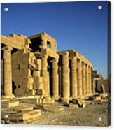 Ramesseum Temple, Luxor, Egypt Acrylic Print