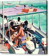 Ramon's Glass Bottom Boat Acrylic Print