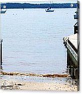 Ramp Ends Here Acrylic Print by Lorraine Louwerse