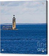 Rams Island Ledge Light Acrylic Print