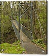 Ramsey Swing Bridge 2 Acrylic Print