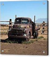 Ranch Truck Acrylic Print
